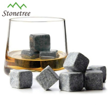 Bar Accessories Recyclable Lava Stone Whiskey Ice Cube Stones/Beer Chiller Cube/Wine Cooler Stone